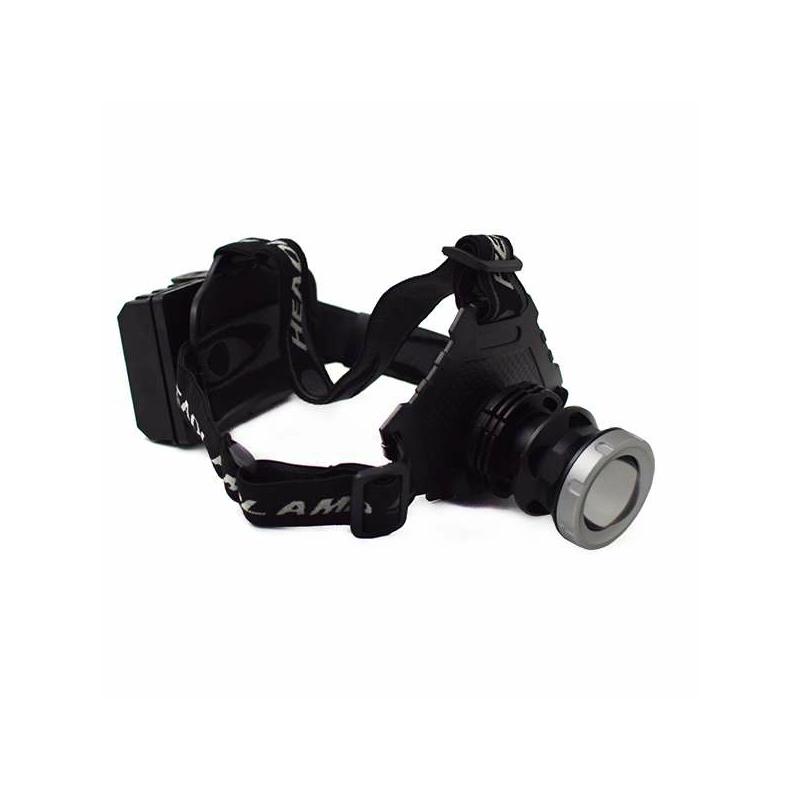 P50 LED zoom fejlámpa nagyteljesítményű akkumulátorral