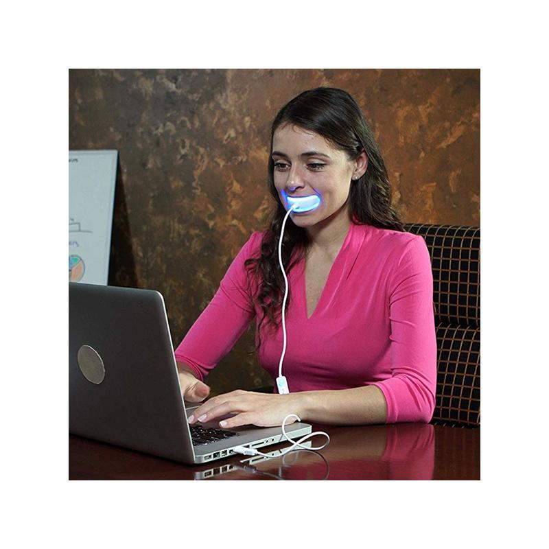 Fogfehérítő készlet - fehér mosoly 20 perc alatt / Telefonról is működtethető