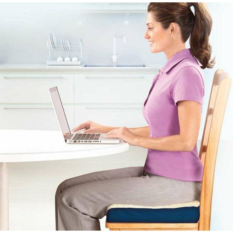 Kétoldalú kényelmi ülőpárna / zselé- és habszivacs párna