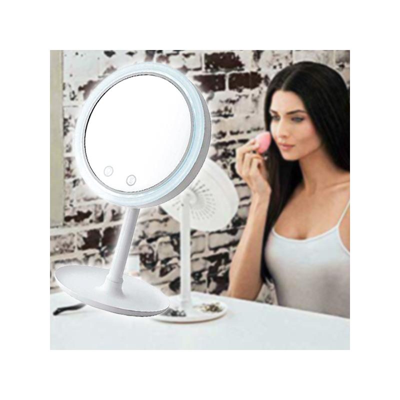 Páramentes kozmetikai- és sminktükör beépített ventilátorral