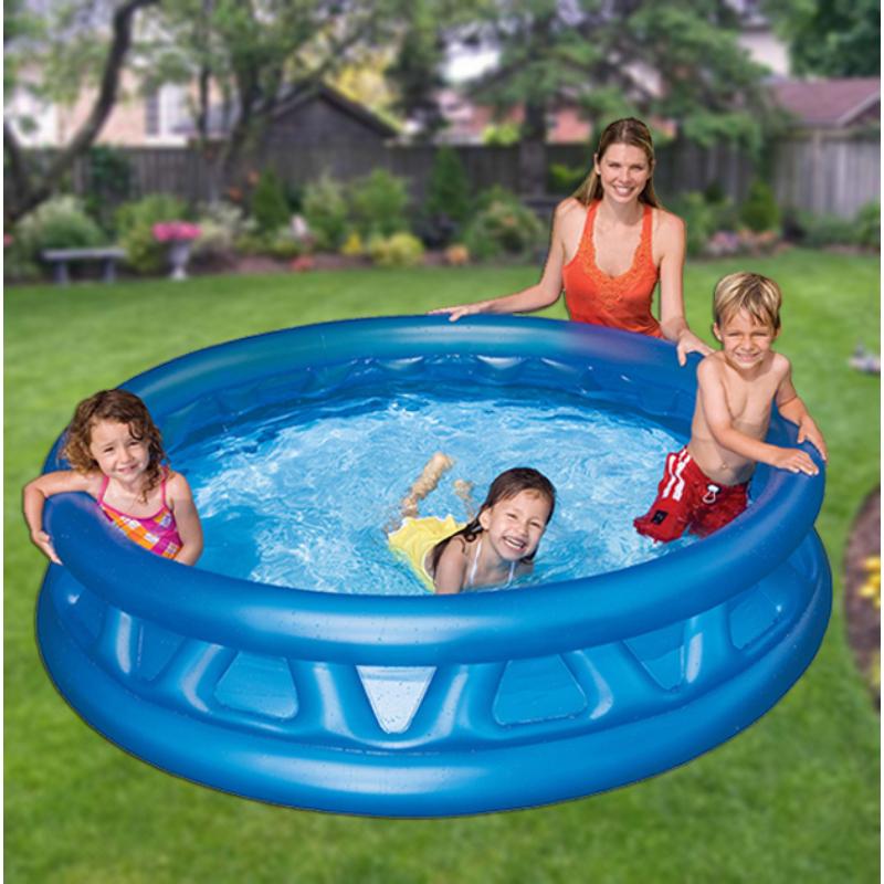 Felfújható medence gyermekeknek / puha oldalfallal