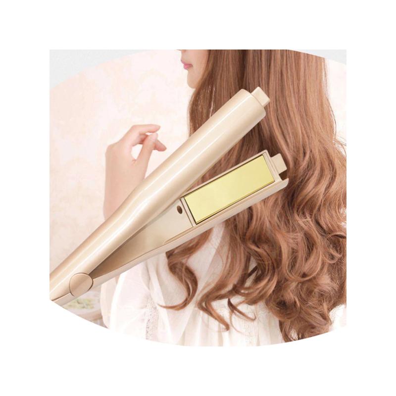 2 az 1-ben hajformázó / hajvasaló és hajgöndörítő készülék