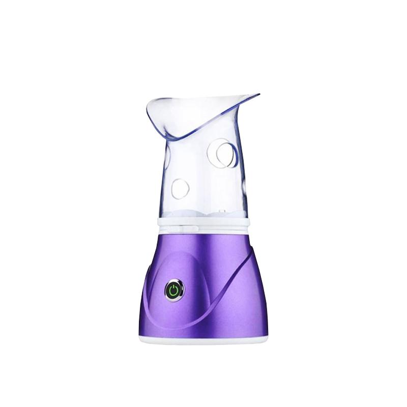 Hoomei arcszauna orrgőzölő adapterrel / a tökéletes, fiatalos bőrért - lila (HM-7560)