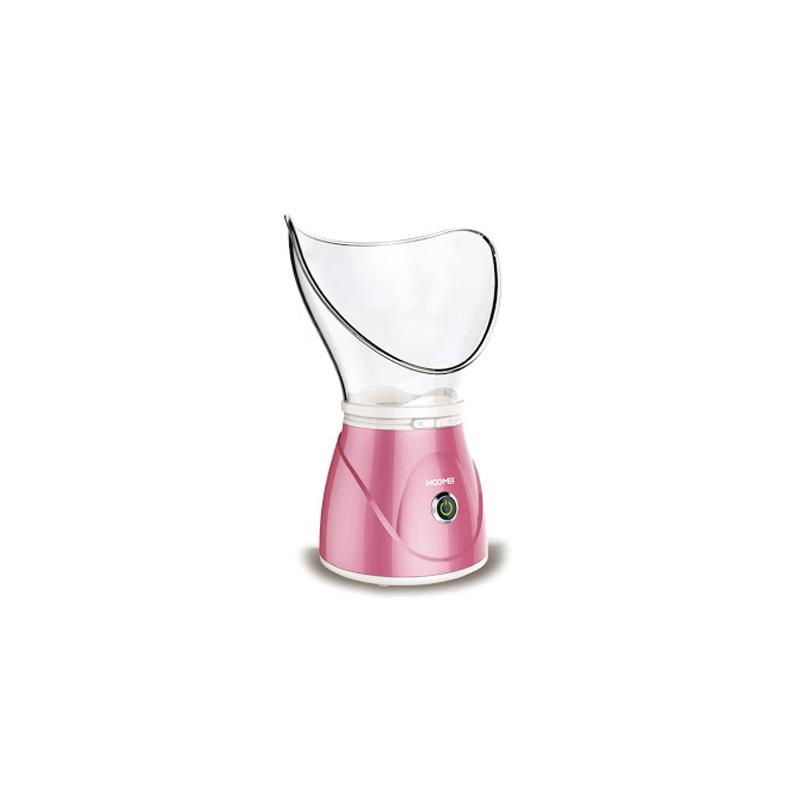 Hoomei HM-7565 arcszauna orrgőzölő adapterrel / a tökéletes, fiatalos bőrért - rózsaszín