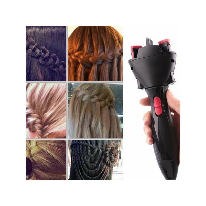 Hoomei automata hajfonó gép / elektromos hajfonat készítő készülék (HM-7868)