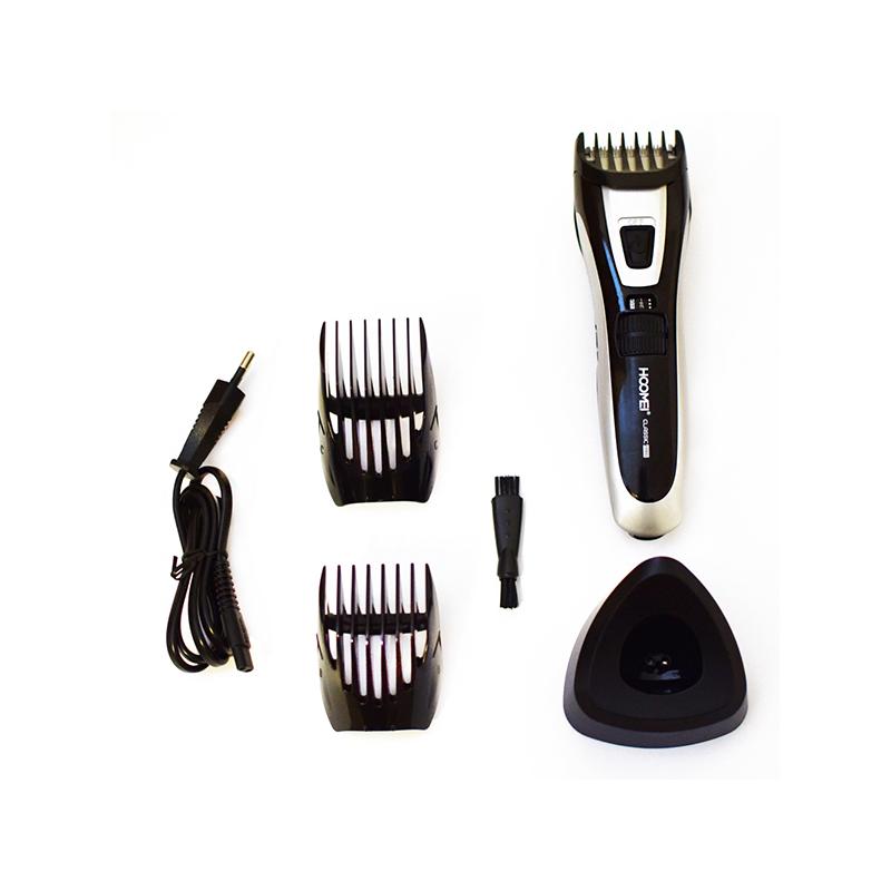 Hoomei akkumulátoros, profi hajnyírógép, állítható fejjel