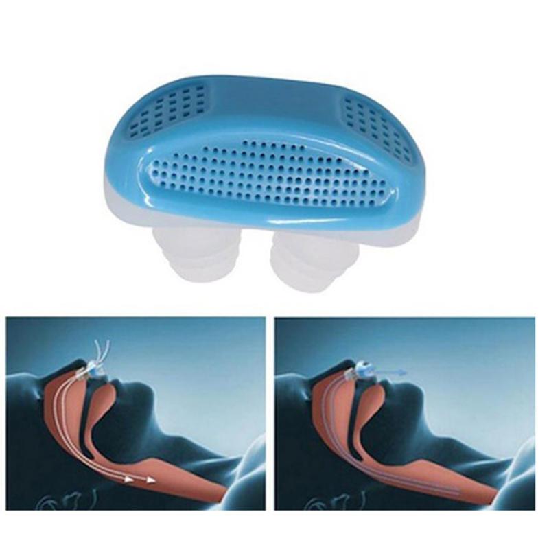 Horkolásgátló orrdugó / gyűrű légszűrővel