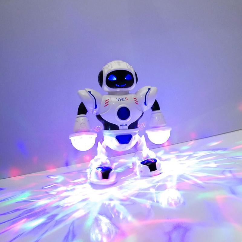 Táncoló robot / zenél, táncol, színes fényekkel világít