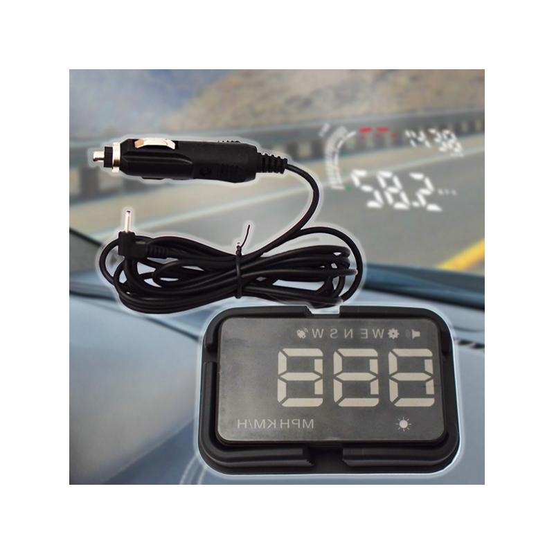 HUD GPS-szel - Univerzális szélvédőre vetítő sebesség kijelző autóba