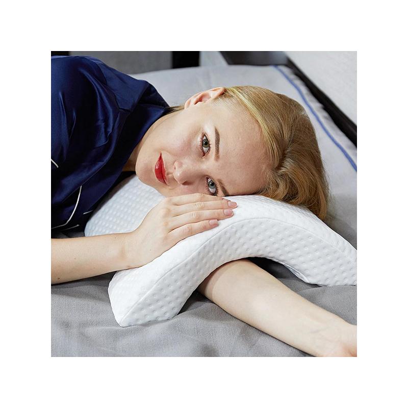 Ívelt, nyomás gátló párna – Nem zsibbad el többé a karod alvás közben!