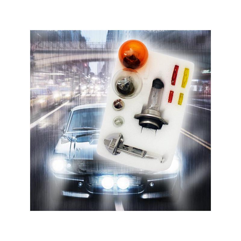 H7/H1 12V tartalék autós izzókészlet / 10 darabos