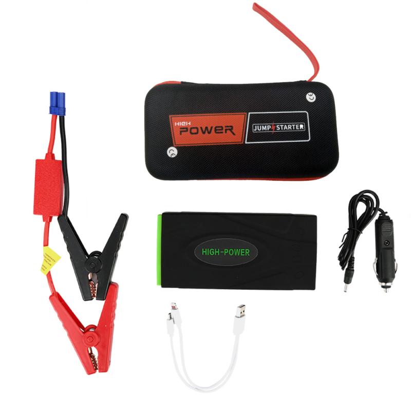 Autós gyorsindító külső akkumulátor és Powerbank / Hordozható indító szett