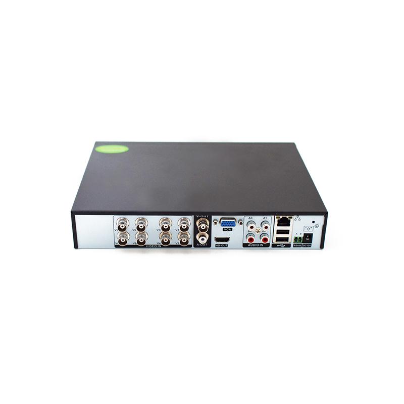 8 csatornás AHD kamerarendszer, vezérlővel, 8 db kamerával, mozgásérzékeléssel