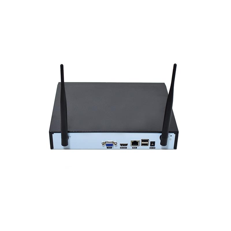 Wireless NVR Kit – 4 csatornás, digitális kamerarendszer, 4 HD kamerával, Cloud funkcióval