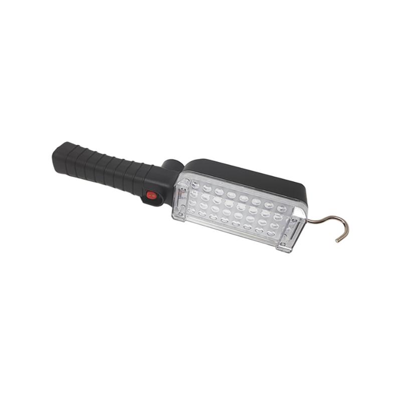 Tölthető LED munkalámpa mágnessel és kampóval
