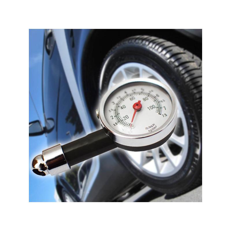 Autós keréknyomás mérő