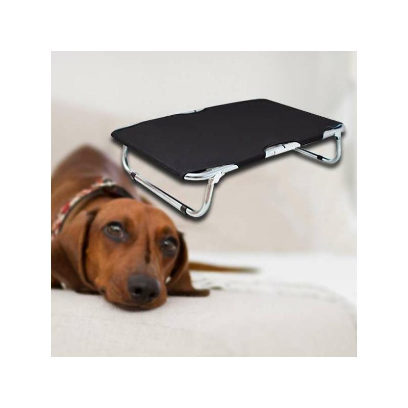 Kicsi, összecsukható kutyaágy / fémvázas kutyafekhely – 60x40 cm