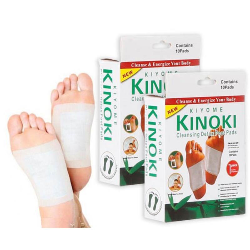 Kinoki méregtelenítő tapasz / 10 darabos csomag