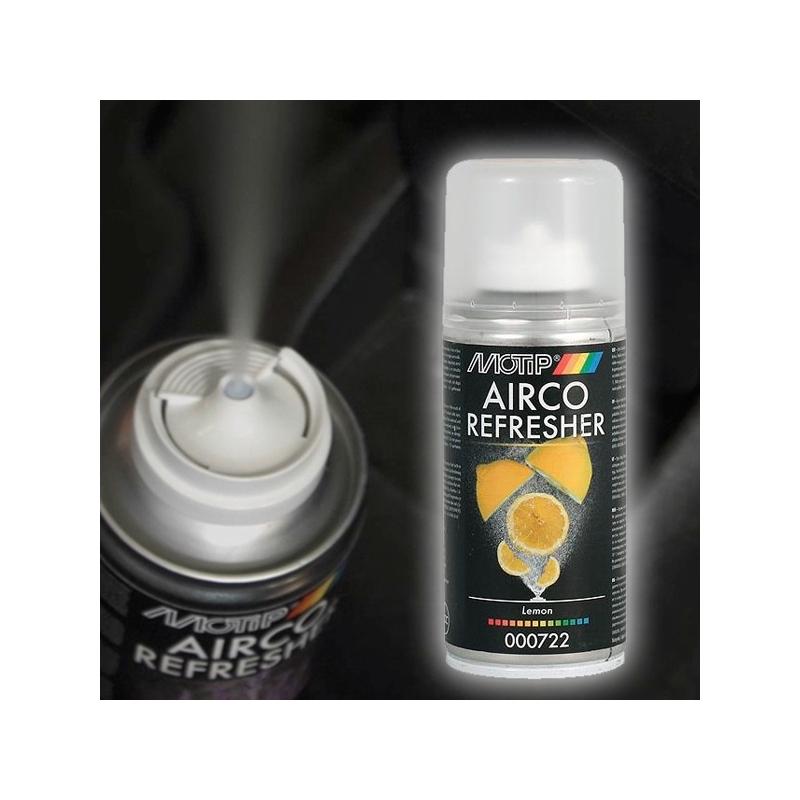 Klímatisztító, frissítő és fertőtlenítő spray / klímabomba autóba - több illat