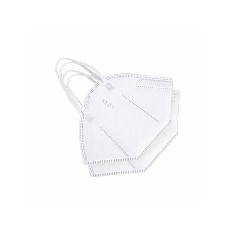 10 darab KN95 légzésvédő egészségügyi arcmaszk / szájmaszk (FFP2)