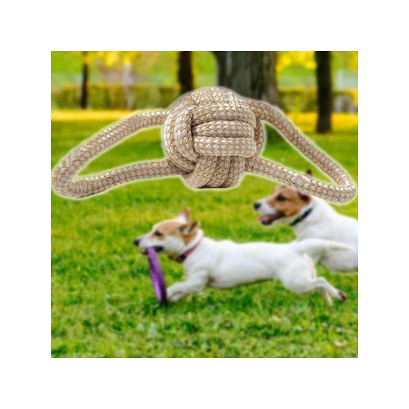 Játszókötél kutyáknak, 1 csomóval