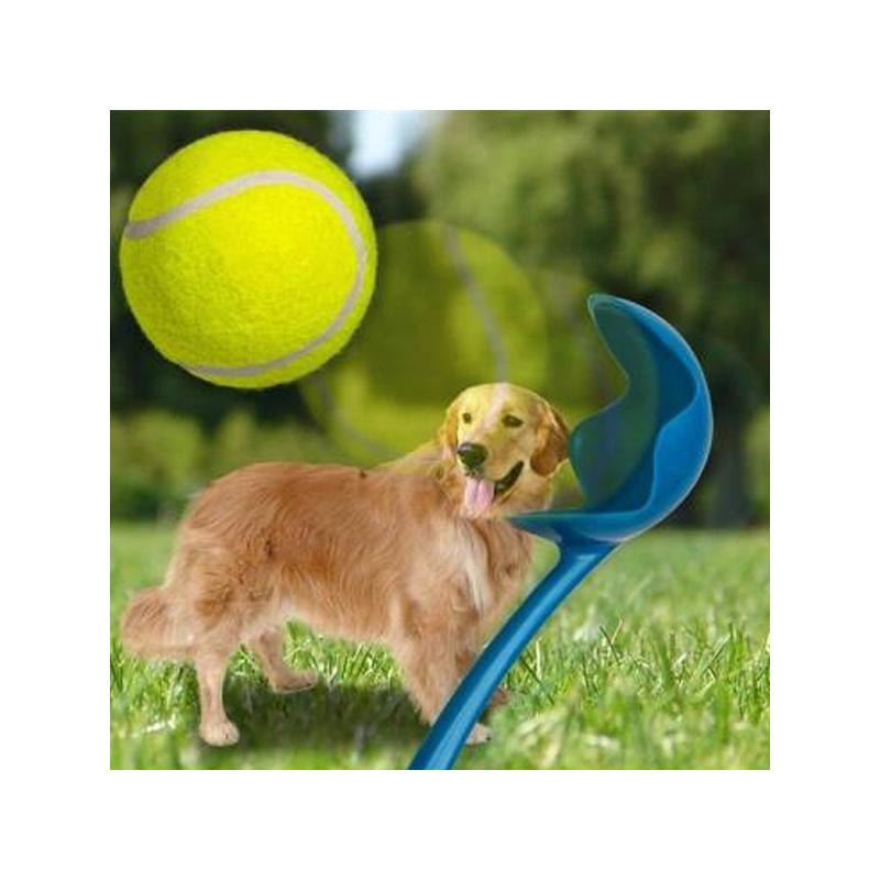 Labdahajító játék kutyáknak / labdával