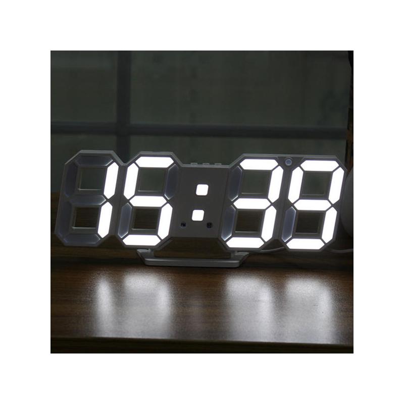 Digitális LED óra hőmérővel / asztali és fali óra