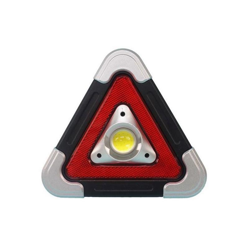 Ledes elakadásjelző háromszög – világításként is használható
