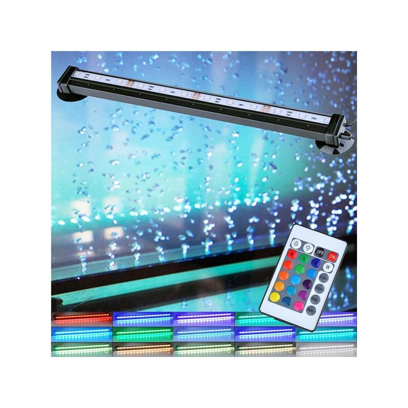 4W LED akvárium világítás távirányítóval / RGBW akváriumlámpa