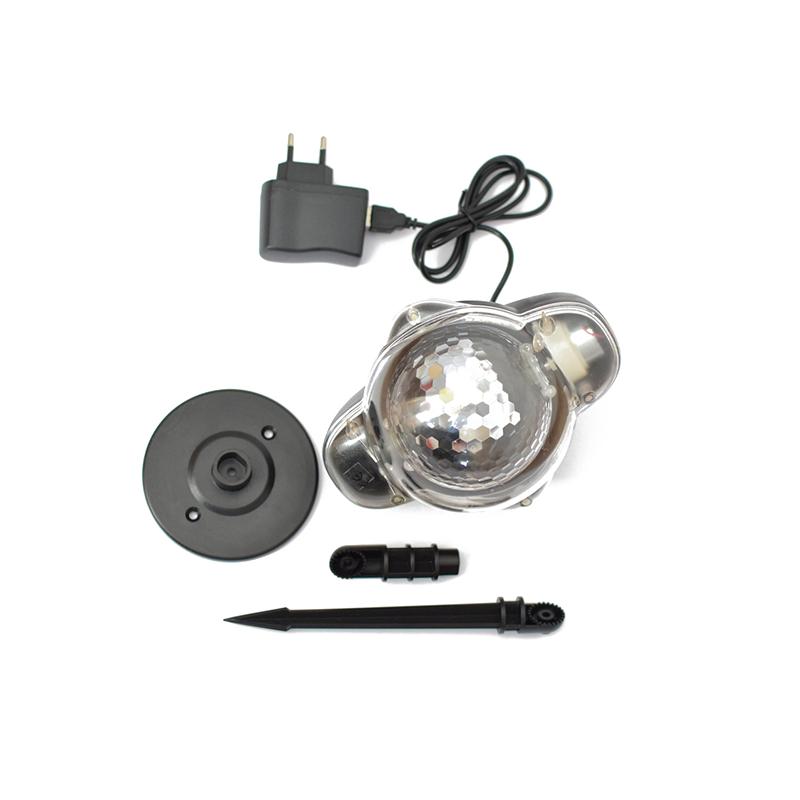 Mini LED hóesés projektor / kül- és beltéren is használható dekorvilágítás