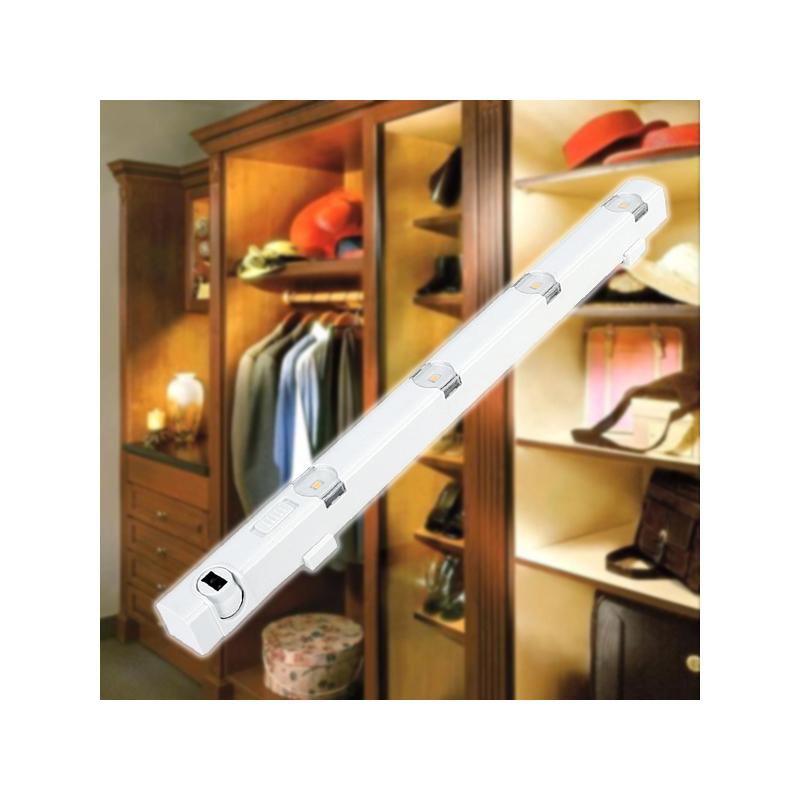 Mozgásérzékelős szekrényvilágítás 4 leddel