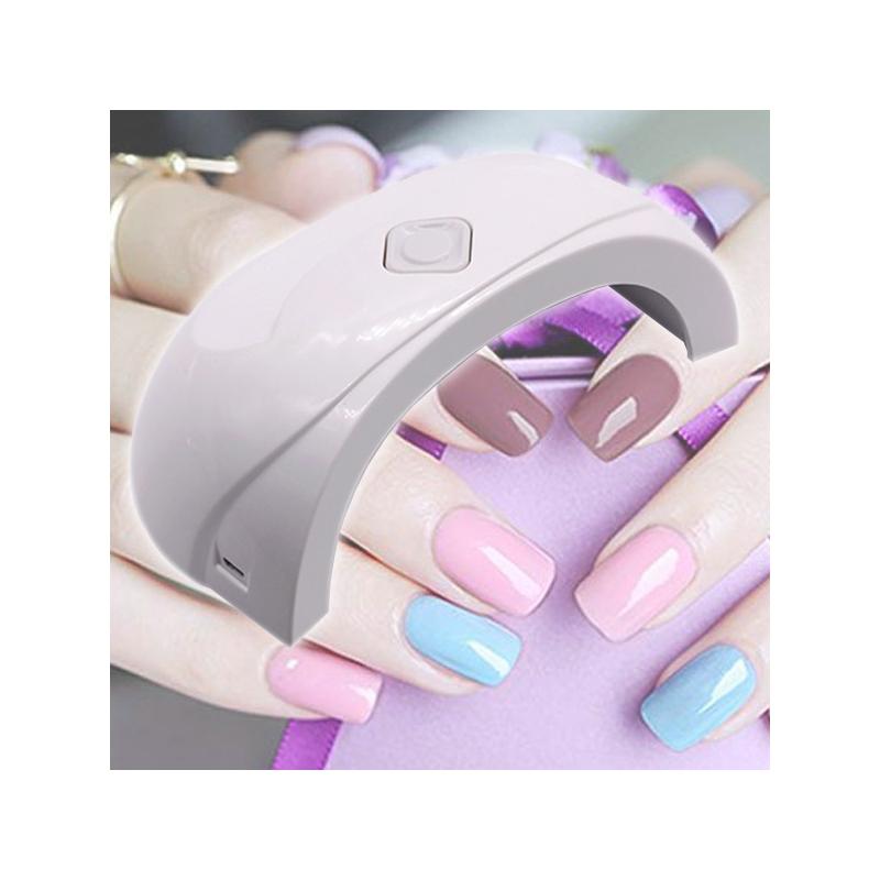 Mini ledes UV lámpa műkörömhöz / 18W