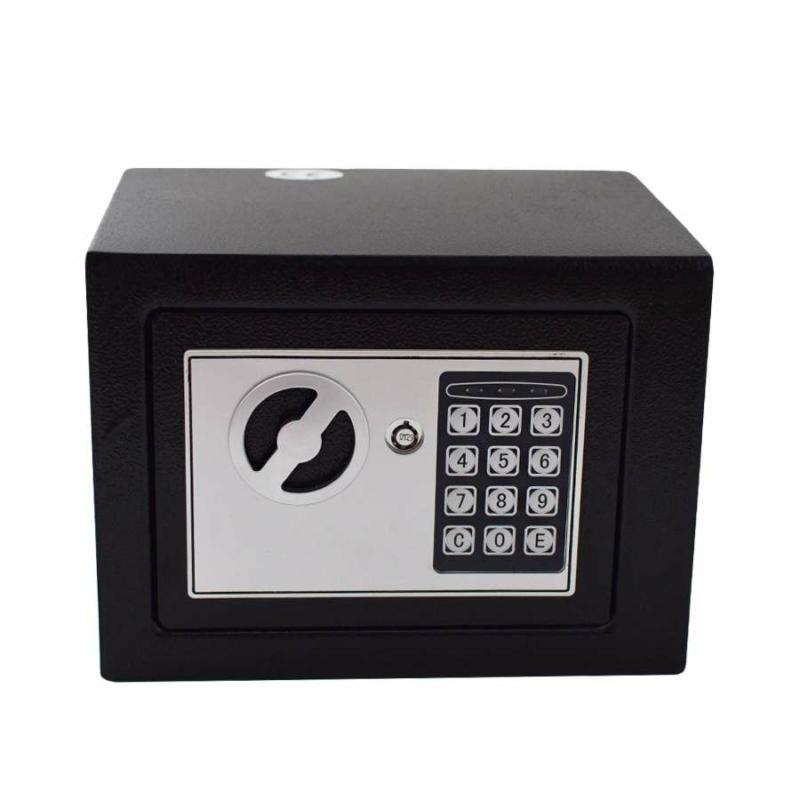 Mini digitális széf / bútorszéf (T-17)