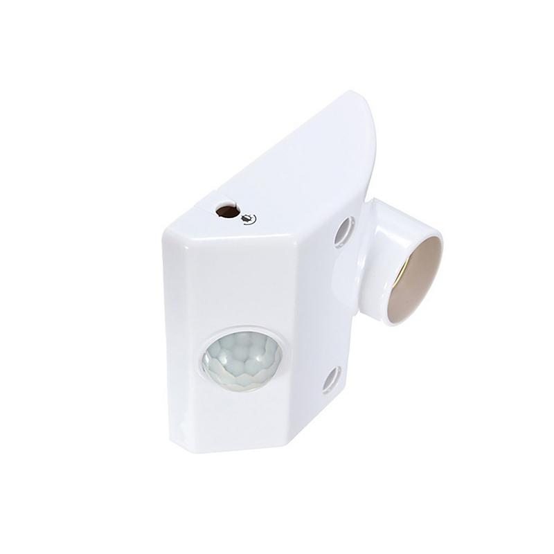 Mozgásérzékelős foglalat E27-es izzókhoz / fényérzékelővel