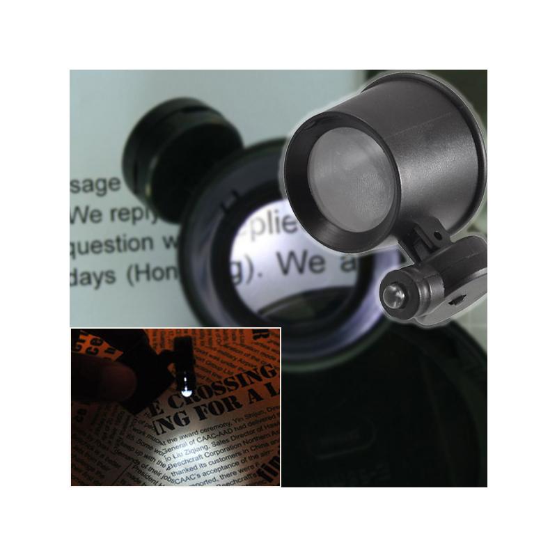Órás nagyító 10x-es nagyítással és LED világítással