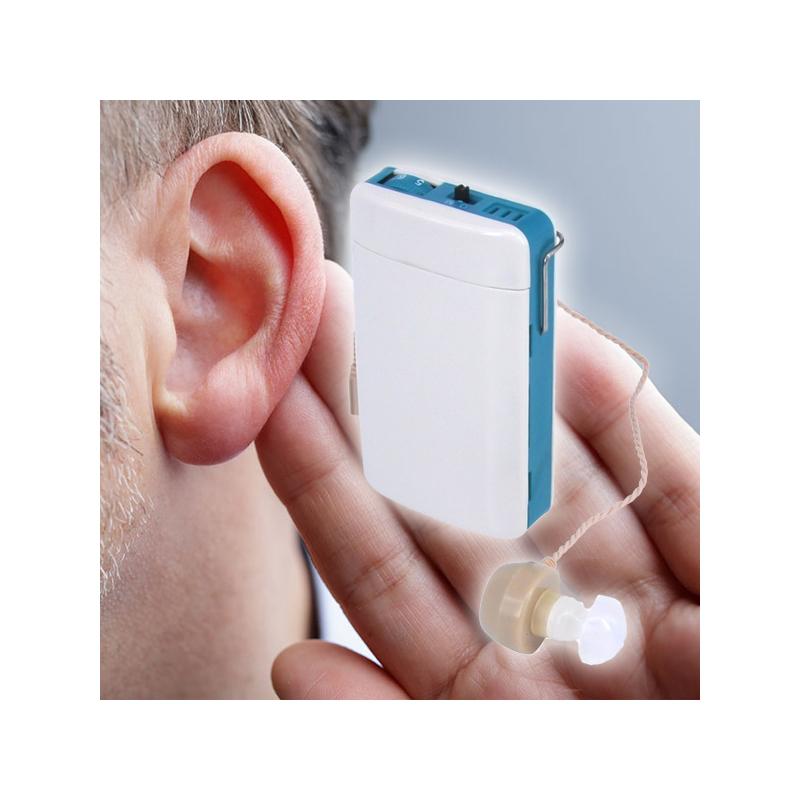Hangerősítő készülék - fülbe dugható hallókészülék több füldugóval