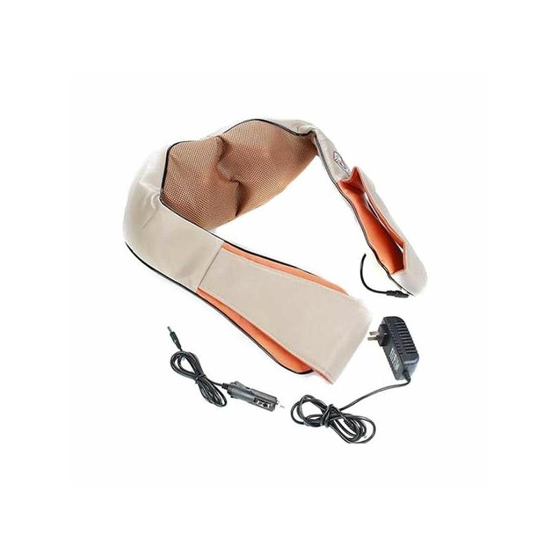 2 db Shiatsu elektromos nyak-, váll- és testmasszírozó készülék / infravörös fűtés funkcióval...