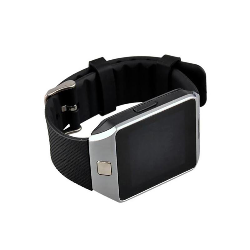 Okosóra kártyafüggetlen SIM foglalattal és kamerával / Bluetooth SmartWatch - fekete