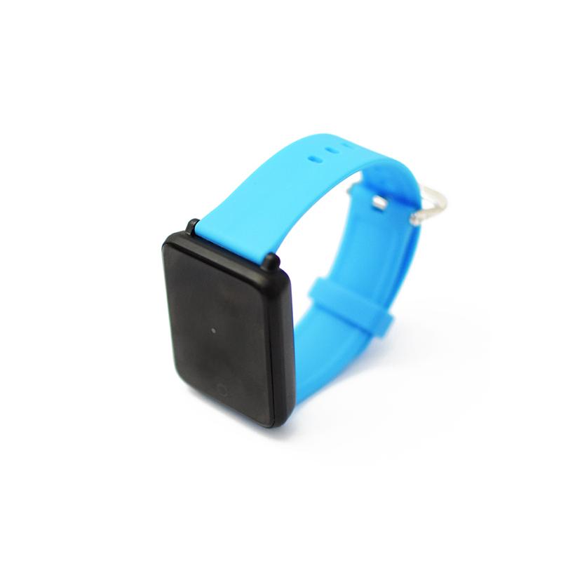 Érintőkijelzős okosóra / pulzus- és vérnyomásmérő Bluetooth SmartWatch, kék