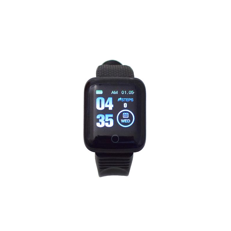 ID116 Plus aktivitásmérő okosóra / fitnesz karkötő pulzus- és vérnyomásméréssel