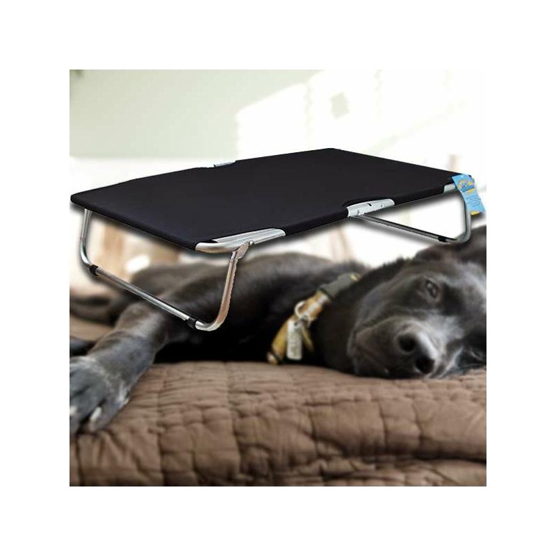 Nagy, összecsukható kutyaágy / fémvázas kutyafekhely – 115x75 cm