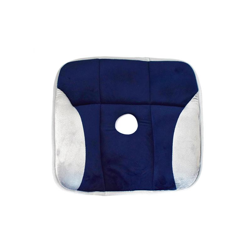 Plüssborítású, tartásjavító ülőpárna hátfájdalmak ellen