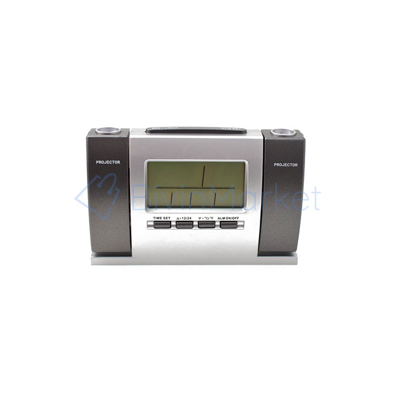 Dupla projektoros digitális óra hőmérővel (DS-503)