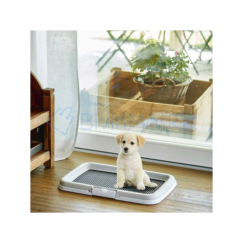 Beltéri kutya toalett / helyhez szoktató, pelenkarögzítő keret