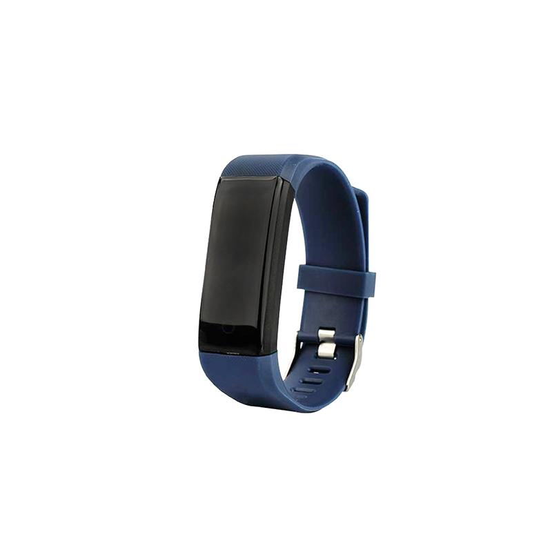 ID115 aktivitásmérő okosóra / fitnesz karkötő pulzus- és vérnyomásmérővel