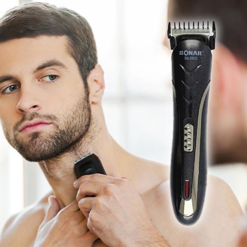 Haj- és szakállnyíró gép / orrszőrvágó fejjel