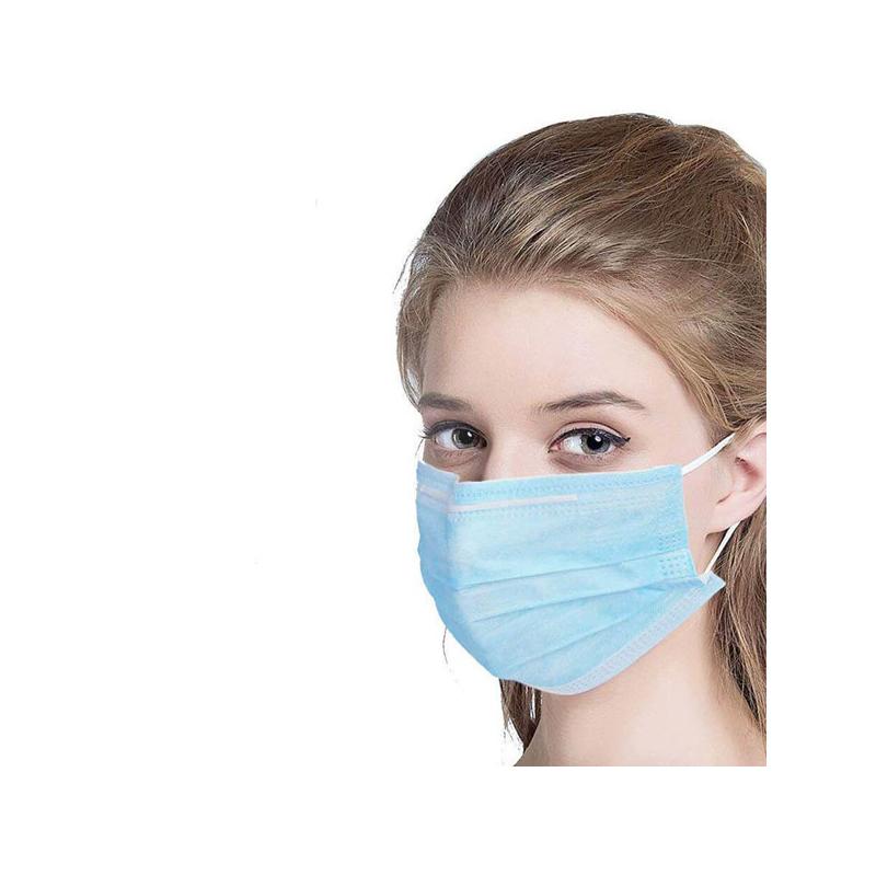 Háromrétegű egészségügyi szájmaszk csomag, 10 darabos