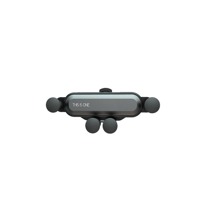 Szellőzőrácsba rögzíthető flexibilis telefontartó