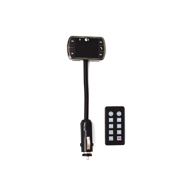 Flexibilis Bluetooth FM transzmitter távirányítóval, autóba