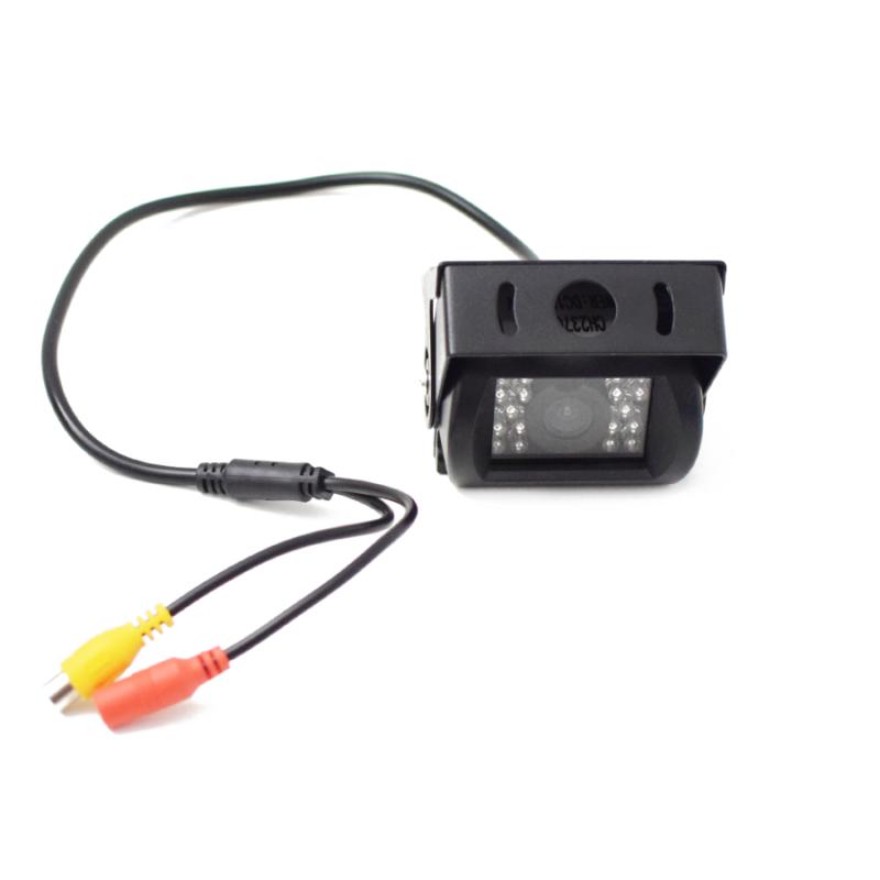 """Vezeték nélküli tolatókamera szett 7""""-os TFT LCD monitorral, 2 db éjjellátó kamerával – teherautókhoz, munkagépekhez"""